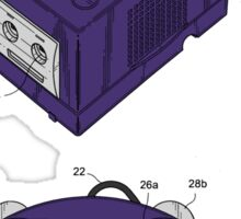 Game Cube and a Controller Sticker