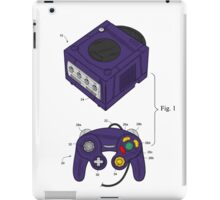Game Cube and a Controller iPad Case/Skin