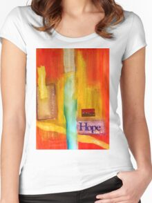 Windows of HOPE Women's Fitted Scoop T-Shirt