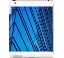 Blue Building in the heart of Berlin iPad Case/Skin