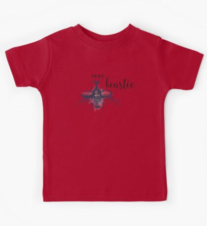 Wee Beastie Watercolor Insect Kids Tee