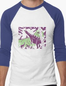 Long Necks - Green and Purple T-Shirt