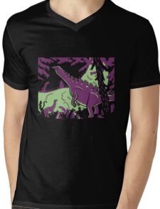 Long Necks - Green and Purple T-Shirt