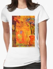 The Glow of JOY Womens Fitted T-Shirt