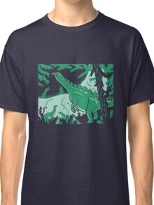 Long Necks - Blue and Green Classic T-Shirt