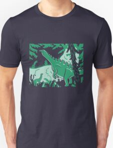 Long Necks - Blue and Green T-Shirt