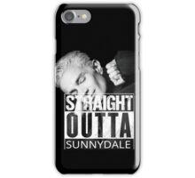 Spike- Straight Outta Sunnydale iPhone Case/Skin