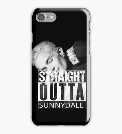 Spike- Straight Outta Sunnydale iPhone Case/Skin