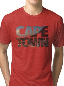 CAPE TOWN CITY – Typo Tri-blend T-Shirt