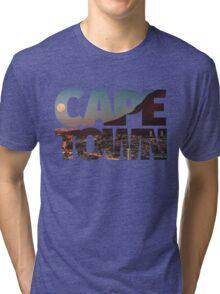 CAPE TOWN CITY – Typo Tri-blend T-Shirt