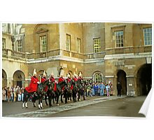 Whitehall Entrance to Horse Guards Poster