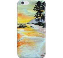 Pineapple Sunset iPhone Case/Skin