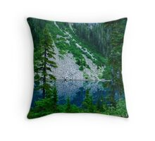 08 august - Unstable Slopes at Brunswick Lake Throw Pillow