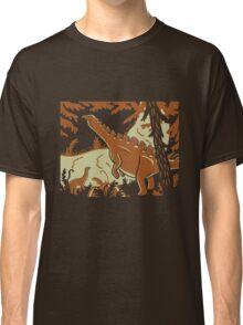 Long Necks - Tan and Orange Classic T-Shirt