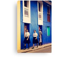 India: A Day in the Life of Goa #1 - And Time moved on Canvas Print