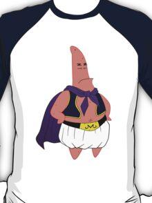 dragon ball z majin buu patrick star parody anime manga shirt T-Shirt