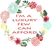 I'm A Luxury Few Can Afford by megsiev