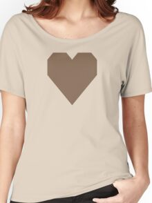 Pastel Brown Women's Relaxed Fit T-Shirt
