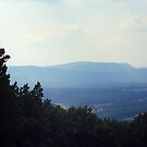 Blue Ridge Mountains, Virginia by Frank Romeo
