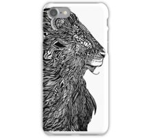 THE KING - LION iPhone Case/Skin