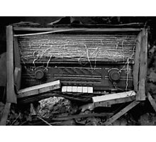 Radio Photographic Print