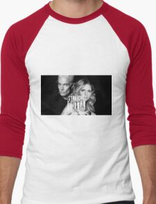 Straight Outta Spuffydale! Men's Baseball ¾ T-Shirt
