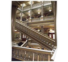 Stairs, Providence City Hall Poster