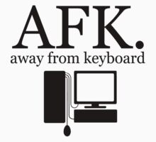 away from keyboard. by Electric Stars