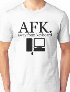 away from keyboard. Unisex T-Shirt