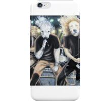Heavy Metal Dog Band iPhone Case/Skin