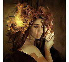 Autumn's Goddess Photographic Print