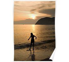 Italian sunsets Poster