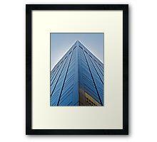 Corner shot Framed Print