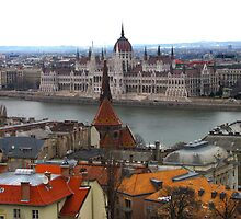 Budapest in February by Jamie Alexander