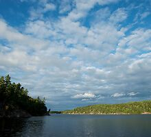 Killarney: Johnny Lake Clouds by Skye Hohmann