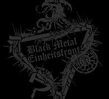 Einheitsfront Sigil: Black Metal Einheitsfront DARK by gardenofgrief