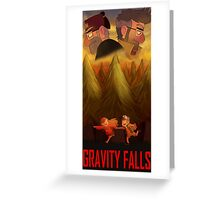 Gravity Falls Greeting Card