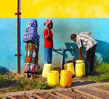 People collecting water in Nairobi, KENYA by Atanas Bozhikov NASKO