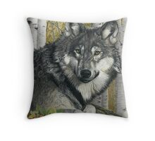 Alpha Male Throw Pillow