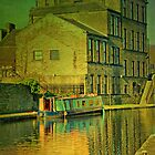 Canal At Skipton by Sandra Cockayne