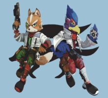 Fox and Falco by Ngea