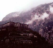 Forte di Bard (Aosta) Italia. by germt
