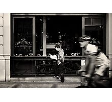 """""""slow down... you move too fast..."""" Photographic Print"""