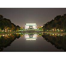 Lincoln's Greek Doric Temple Photographic Print