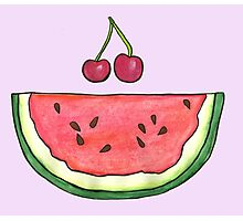 Watermelon Smile by Jayne Kitsch Photographic Print