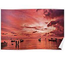 Thailand Sunset Poster