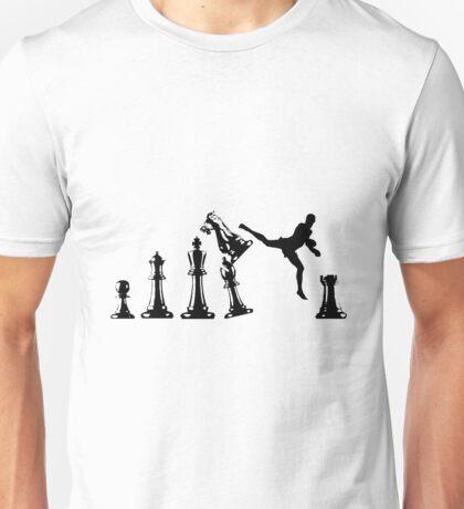 Kickboxing Chess Unisex T-Shirt