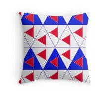 Abstract Pattern 172B Throw Pillow
