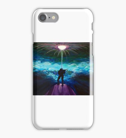 Master Chief on the Edge iPhone Case/Skin