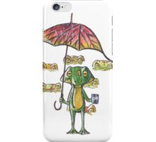 Froggy weather iPhone Case/Skin